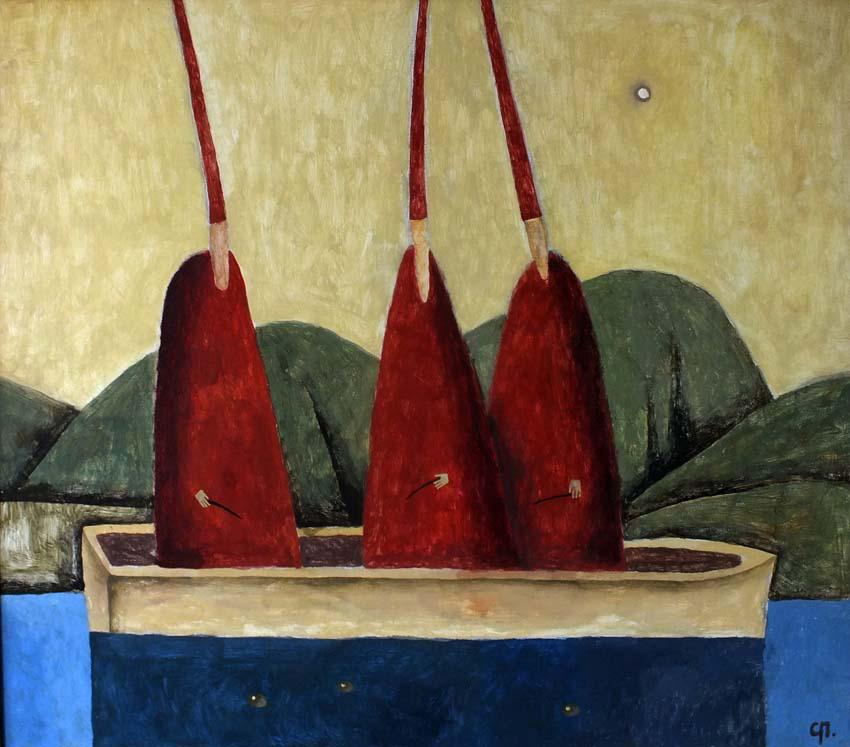 лодка христа цветок